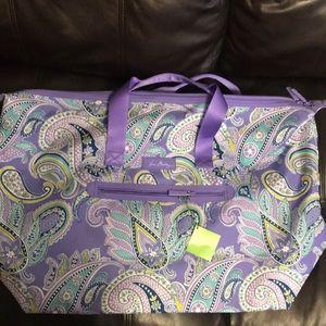 Vera Bradley travel duffel